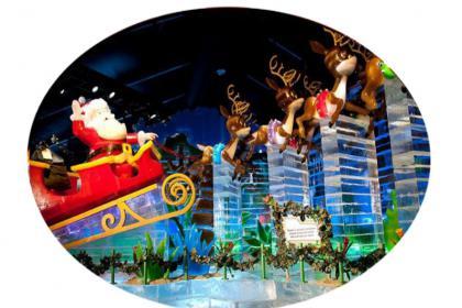 2 Days Christmas Village, Ice Sculpture, Adventure Aquarium, Baltimore Tour