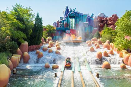6 days Universal Studios,Island of Adventure and Volcano Bay