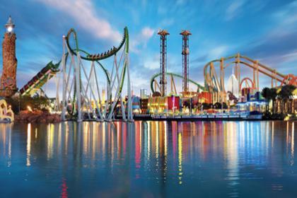 7 days Universal Studios,Island of Adventure and Volcano Bay